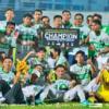 Kerteh FC muncul juara berganda Liga Amatur Terengganu dalam penampilan pertama mereka tahun lalu.