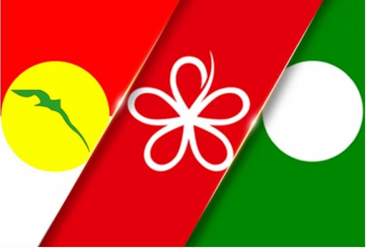 UMNO, Bersatu dan Pas menjadi tunggak pemerintahan kerajaan sekarang.