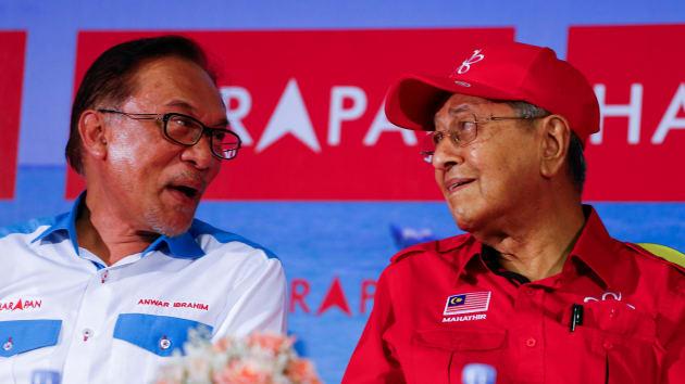 Siapakah bakal Perdana Menteri Pakatan Harapan, Anwar Ibrahim atau Mahathir Mohamad