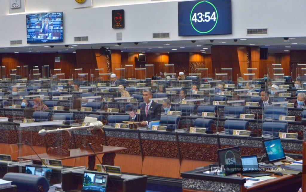 Tengku Zafrul Tengku Abdul Aziz ketika menggulung perbahasan di Dewan Rakyat, semalam.