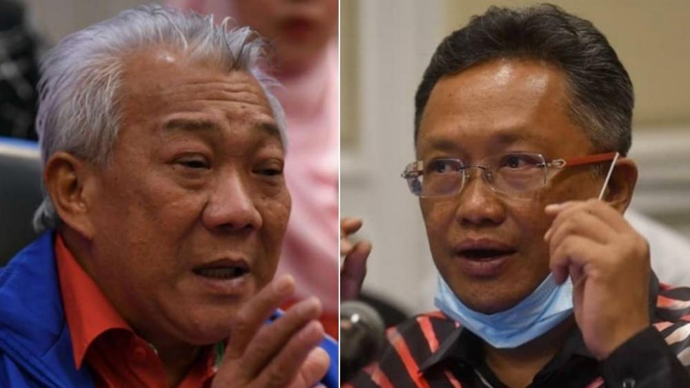 Bung Moktar Radin dan Abdul Rahman Dahlan