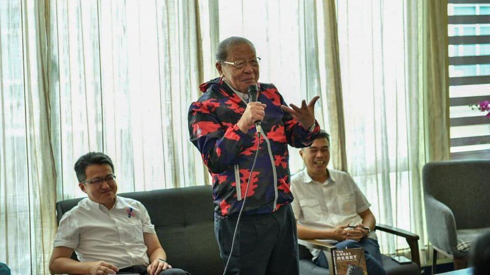 Lim Kit Siang ketika berkempen di Pilihan Raya Negeri Sabah, semalam. - Foto FB Lim Kit Siang
