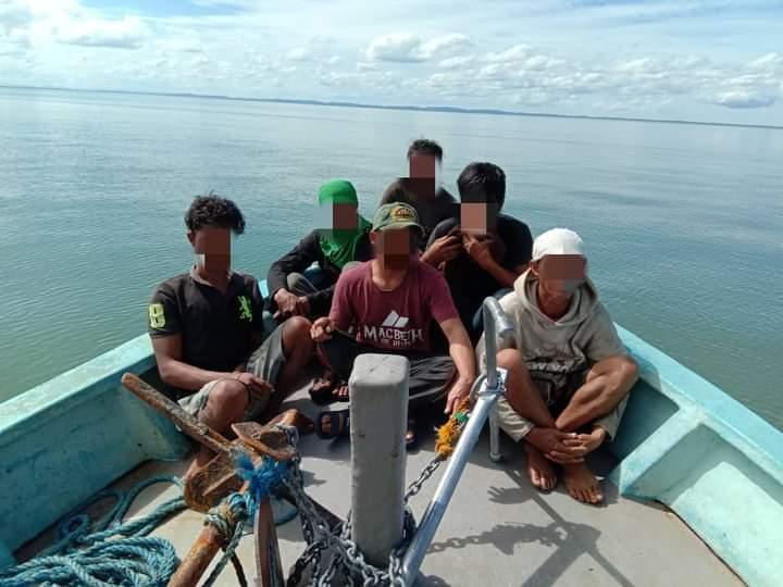 Cubaan PATI dari Filipina  menyeludup rokok putih ke negara ini berjaya dipatahkan pihak Maritim Malaysia.