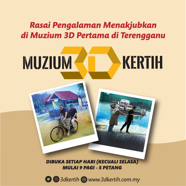 Rasai pengalaman menakjubkan di muzium 3D pertama di Terengganu
