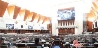 sidang parlimen tidak bersidang
