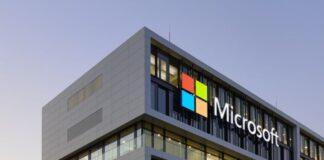 pusat data Microsoft