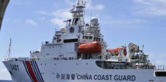 pengawal pantai China