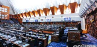 September sidang parlimen Julai kerajaan