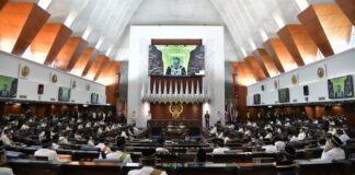 perdana sidang Parlimen Hibrid