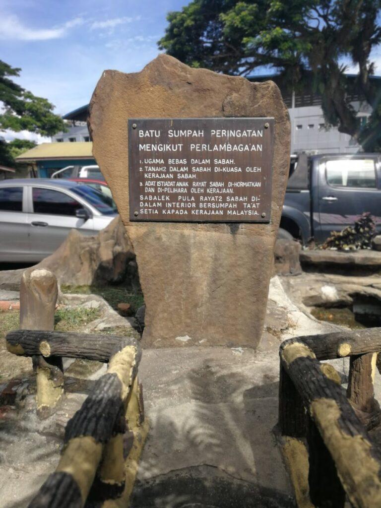 Sabah negeri Batu Sumpah