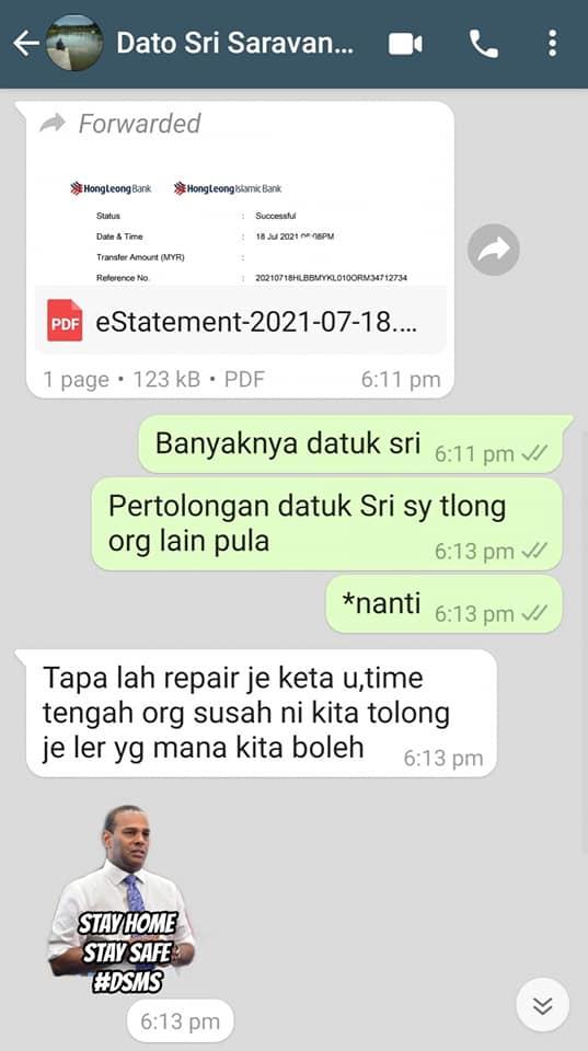 Wan Mahussin Wan Zain durian menteri